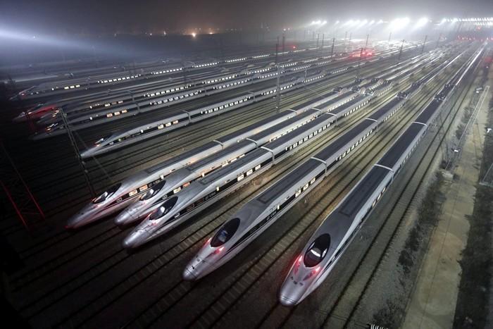 Новый рекорд Китая: высокоскоростная железная дорога