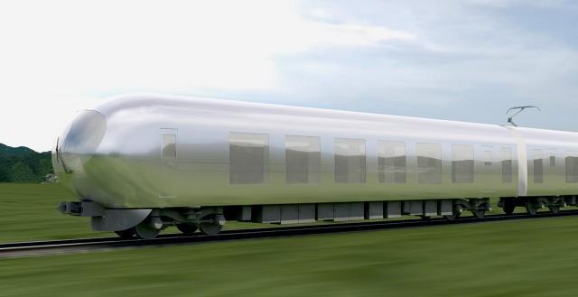 Поезда-невидимки начнут ходить в Японии в 2018 году