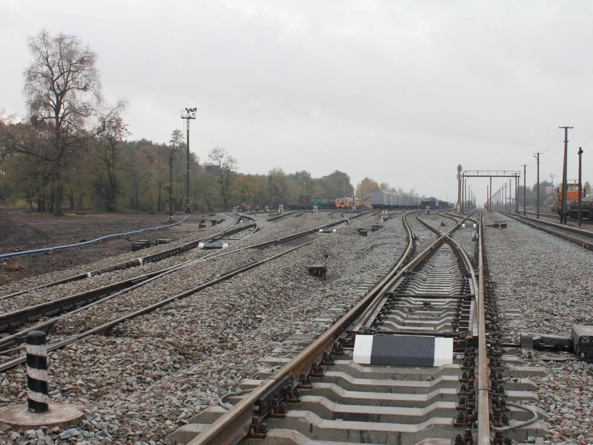 Капітальний ремонт колійного розвитку в горловинах станції Овруч (технічне переоснащення)