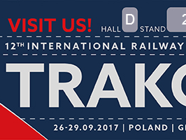 International Railway TRAKO Fair 2017