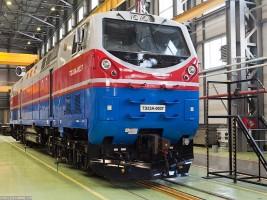 В Украину прибыл тепловоз от General Electric