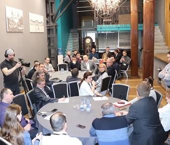 Сотрудники  ООО «ИПИТ» приняли участие в очередном круглом столе Дорожного клуба