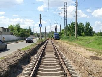 Rekonstrukcja kolei tramwajowych na ul.Moiseewskiej
