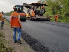 Строительство автомобильной дороги Н-08 на участке Запорожье - Мариуполь